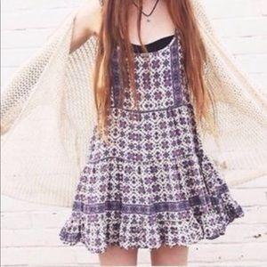 Brandy Melville Boho Floral Dress